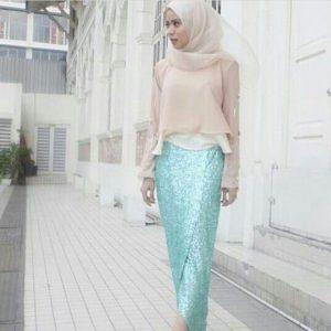 Skirt Berpotongan Ikan Duyung