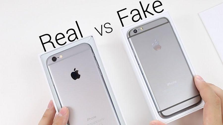 IPhone Ori Vs Clone