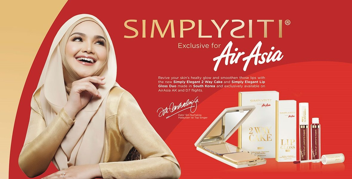 Banner SimplySiti Air Asia