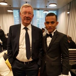 Faiz Subri Dan Sir Alex Ferguson, Pengurus Lagenda Manchester United
