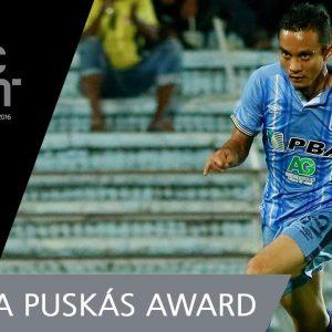 Faiz Subri Memang Fifa Puskas Award 2016