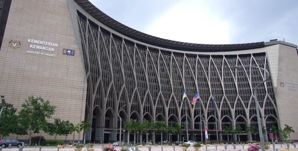 Gambar Bangunan Kementerian Kewangan Malaysia
