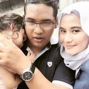 Gambar Keluarga Eyqa Sulaiman Sugarscarf Dan Suami