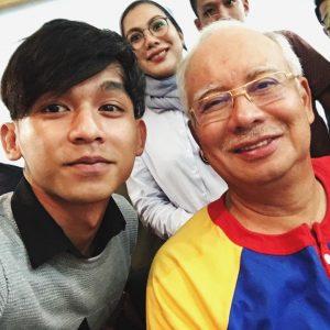 Jaa Era Selfie Bersama PM Najib Razak