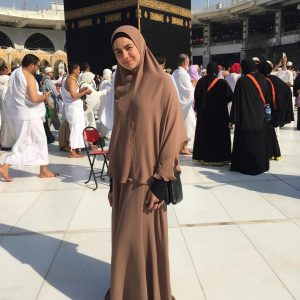 Noor Nabila Ketika Mengerjakan Umrah Di Mekah
