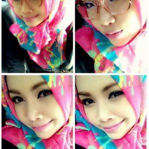 Selfie Comel Furyna Azmir Aura White