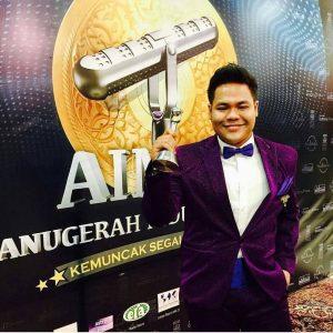 Syamel Di Majlis Anugerah AIM