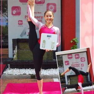 Aksi Gimnastik Farah Ann