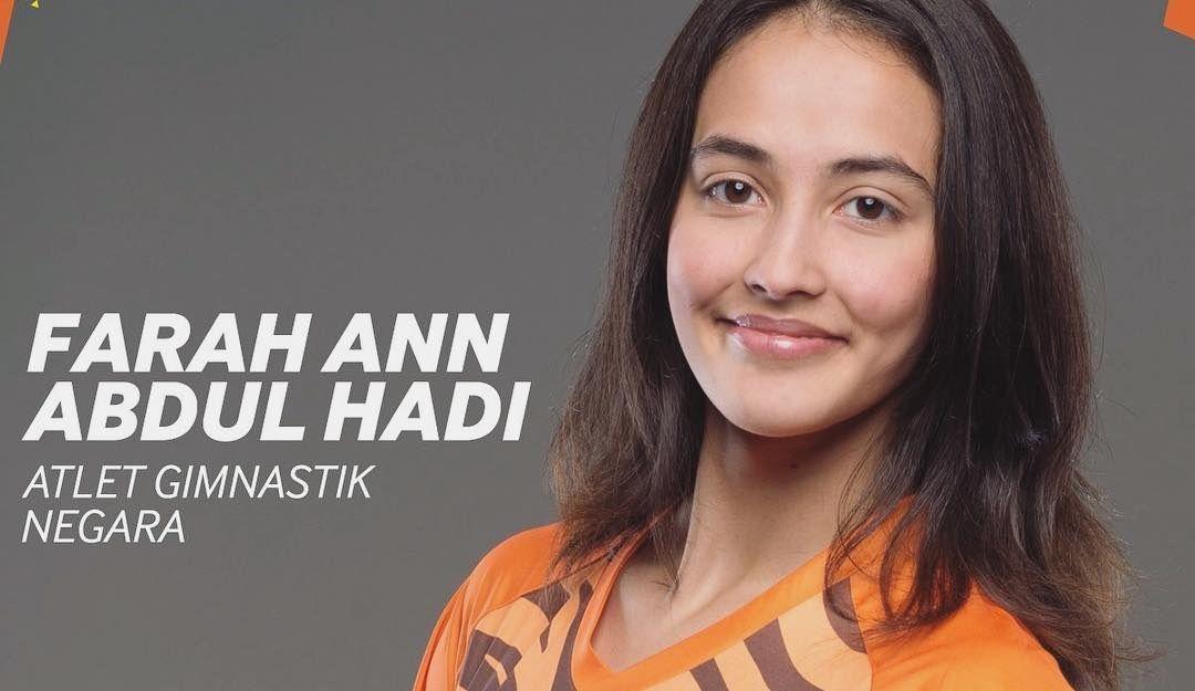 Atlet Gimnastik Farah Ann