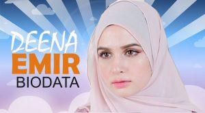Biodata Deena Emir, Isteri Saharul Ridzwan