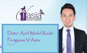 Biodata Pengasas V'Asia, Datuk Dr Azril Mohd Radzi