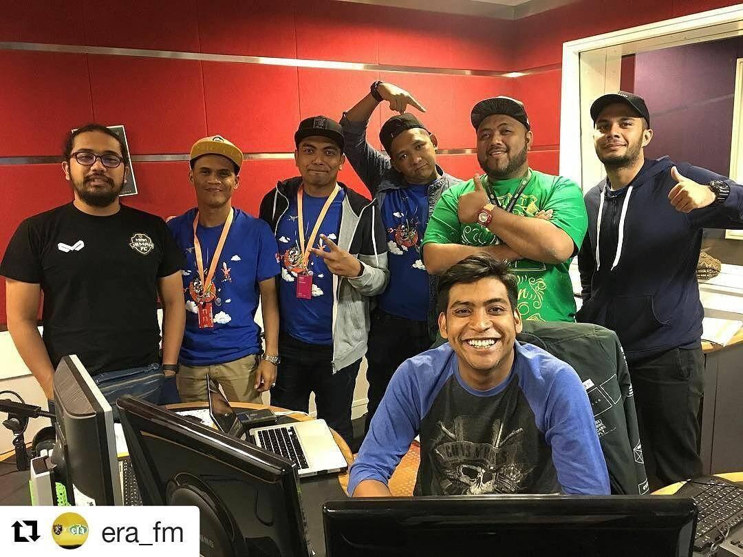 Danial Lawak Solo Di Konti ERA FM Bersama Johara