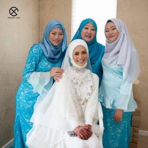 Fesyen Hijab Perkahwinan Eleena Sui