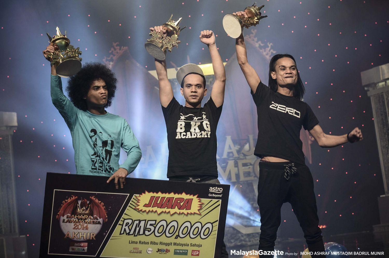 Gambar Kumpulan Zero Juara Maharaja Lawak Mega 2014