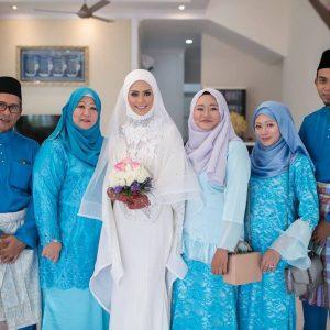 Keluarga Eleena Sui Semasa Majlis Perkahwinan