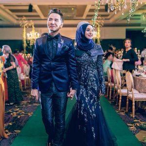 Perkahwinan Dato Azril Pengasas V'Asia Cosmetic Dan Balqish Husni