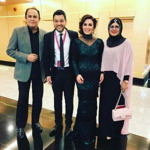 Sarimah Ibrahim Bersama Suami Dan Datuk Yusof Haslam