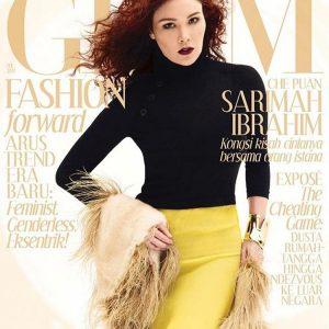 Sarimah Ibrahim Cover Majalah Glam 2017