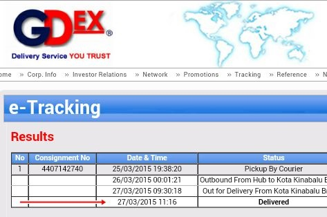 Tracking GDEX