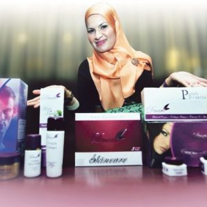 Wajah Pengasas Dnars Skincare
