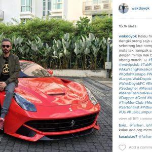 Wak Doyok Dan Kereta Ferrari Merah
