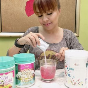 Jihan Muse Duta Produk Kecantikan Secret Skin White Kawaii Collagen