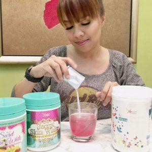 Jihan Muse Duta Produk Kecantikan Secret Skin White Kawaii Collagen