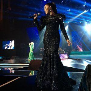 Jihan Muse Menyanyi Lagu