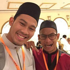 Abdul Latif Romly Bersama Rakan Baik