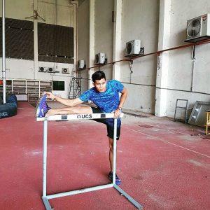 Abdul Latif Romly Menjalani Latihan