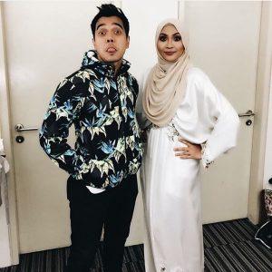 Alif Satar Bersama Siti Nordiana