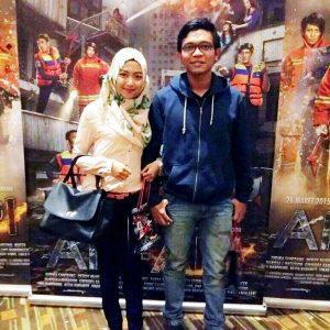 Foto Dzawin Dan Kekasihnya Ratih Puteri