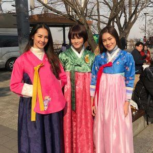 Gadis Melayu Berpakaian Kimono Jepun, Adriana Adnan