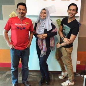 Halim Othman, Zulin Aziz Dan Fizi Ali (Suria FM)