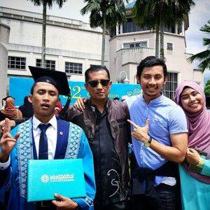 Luqman Hafidz Dan Ahli Keluarganya