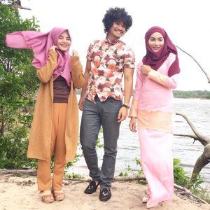 Nadzmi Adhwa Bersama Pelakon Drama Namaku Bedah