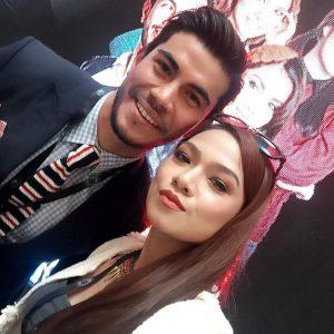 Pasangan Kekasih Azrel Ismail Dan Ruhainies