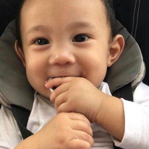 Potret Baby Comel Yusuf Iskandar