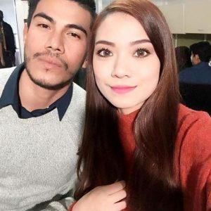 Selfie Manja Artis Azrel Ismail Bercinta