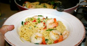 Resepi Spaghetti Telur Masin Yang Sedap