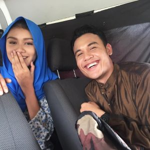 Aksi Mesra Mimi Lana Dan Syazuwan Hassan