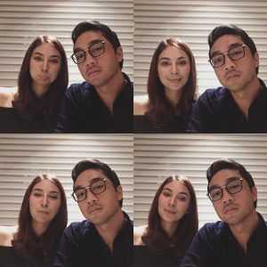 Aksi Romantik Dahlia Shazwan Dan Suami