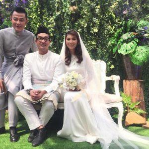 Aznil Di Majlis Pernikahan Dahlia Shazwan Dan Shafiq Ismet