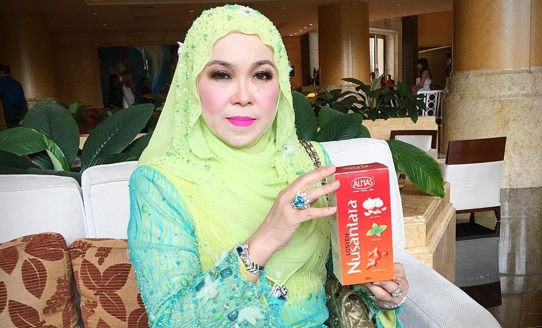 Datin Maziah Mohamed Pengasas Jus Nusantara