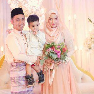 Foto Perkahwinan Hafiz Hamidun Dan Joy Revfa