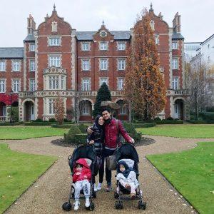 Gambar Family Fadza Anuar & Vivy Yusof Bercuti Di Luar Negara
