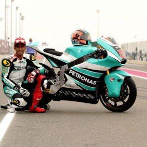 Hafizh Syahrin Dengan Motorsikal