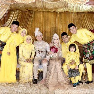 Majlis Perkahwinan Anak Pengasas Aumas Beauty, Afiqah Dan Syafiq