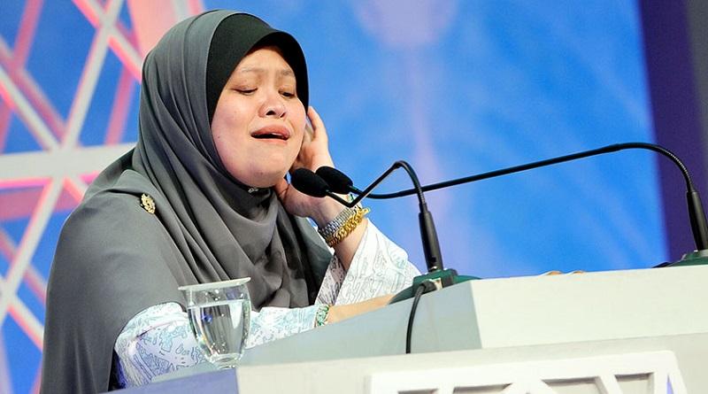 Qariah Noramalina Alias Dari Malaysia Memperdengarkan Bacaan Ayat Suci Al Quran