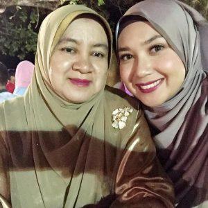 Syakirin Husnal Bersama Ibu Mertua